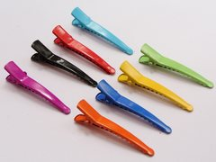 50 Mixed Color Prong Alligator Hair Clips 34mm with Teeth Bows