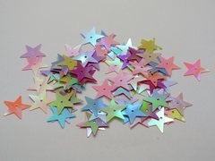 1350 Mixed Color Star loose sequins Paillettes 15mm sewing Wedding craft