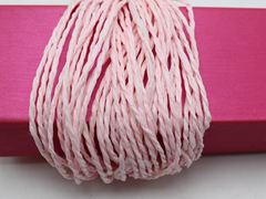100 Meters Pale Pink Mulberry Paper String Twine Cord Crafting Floristry collage
