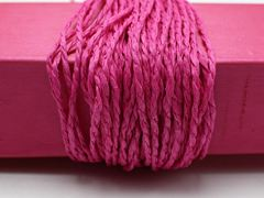 100 Meters Hot Pink Mulberry Paper String Twine Cord Crafting Floristry collage