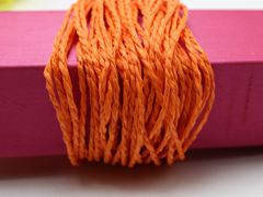 100 Meters Orange Mulberry Paper String Twine Cord Crafting Floristry collage