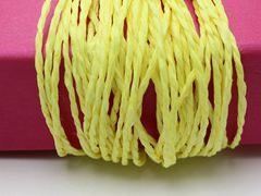 100 Meters Yellow Mulberry Paper String Twine Cord Crafting Floristry Collage