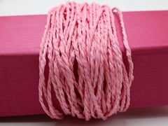 100 Meters Bright Pink Mulberry Paper String Twine Cord Crafting Floristry collage