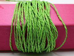 100 Meters Green Mulberry Paper String Twine Cord Crafting Floristry collage