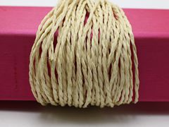 100 Meters Khaki Mulberry Paper String Twine Cord Crafting Floristry collage