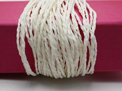 100 Meters White Mulberry Paper String Twine Cord Crafting Floristry collage