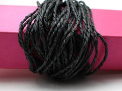 100 Meters Black Mulberry Paper String Twine Cord Crafting Floristry collage