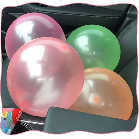 "25pcs 12/"" 3gram Mixed Neon Color Bubble Latex Balloons Celebration Party Wedding"